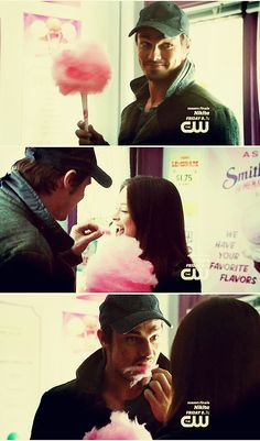 Beauty and the Beast CW Season1. I loved the making-eating-cotton-candy-look-sexy-scene. X)