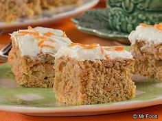 Carrot Cake - This diabetic-friendly recipe has less carbs and less calories than a typical piece of carrot cake. Try this recipe if you're watching your carbs!