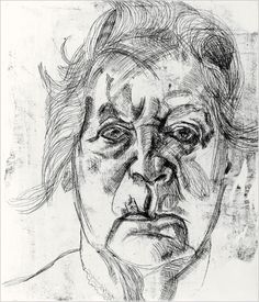 The Painter's Mother - Lucian Freud