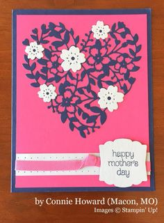 Connie Howard, Macon MO, Stampin' Up!, card swap