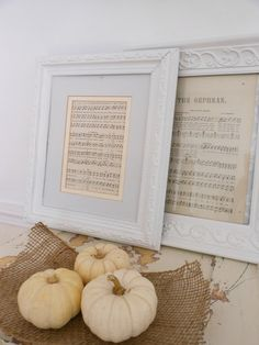 Trendy ideas for music room studio decor Framed Sheet Music, Sheet Music Decor, Sheet Music Crafts, Music Notes Decorations, Music Themed Parties, Music Studio Room, Piano Room, White Pumpkins, Mini Pumpkins