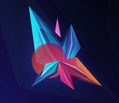 Facets Background - Freebies