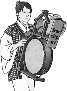 Chingdong Drum / Grayscale images