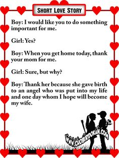 Cute love stories to tell your girlfriend