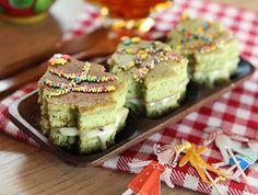 綠茶聖誕樹蛋糕