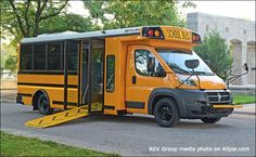 The All-New 2017 Ram ProMaster Type-A Handicap School Bus By Collins