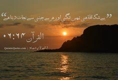 #27 The Quran 06:64 (Surah al-An'am) It is Allah who saves you from every distress. بے شک اللہ ہی تمہیں تنگی اور ہر بےچینی سے نجات دیتا ہے