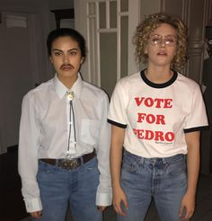 Riverdale's Camila Mendes and Lili Reinhart Reveal Joint Napoleon Dynamite H. - Riverdale's Camila Mendes and Lili Reinhart Reveal Joint Napoleon Dynamite H.