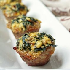 Swiss Chard, Sausage and Ricotta Muffins | 23 Grain-Free Breakfasts To Eat On The Go