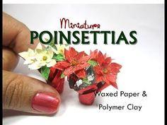 Miniature Poinsettias Tutorial | Creating Dollhouse Miniatures | Bloglovin'