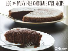 #OHbaby  #eggfree #dairyfreerecipe #chocolatecake #craft #DIY #kids #recipes #lifestyle #parenting #inspiration #baby #toddler #fashion #pregnancy #maternity #nursery #partyideas #birthdayparty Egg Free Chocolate Cake, Dark Chocolate Cakes, Vegan Cake, Dairy Free Recipes, Allergies, Nutella, Cake Recipes, Desserts, Toddler Fashion