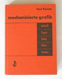 paul renner book - Cerca con Google
