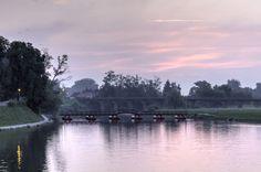 Pastele colors of the sunrise
