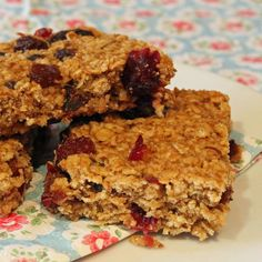 Cherry oat crunchies - Baking Mad