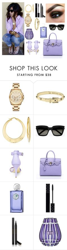 """""""Summer"""" by susanazizumbo ❤ liked on Polyvore featuring Michael Kors, Ross-Simons, Yves Saint Laurent, Steve Madden, La Parfumerie Moderne, Gucci and Saint-Louis Crystal"""