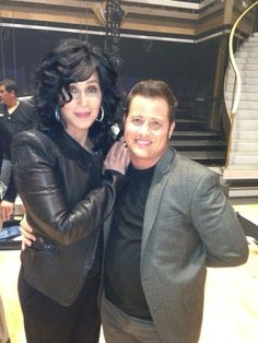 Cher & Chaz. I admire the support she shows for her son; such a class act...love Cher