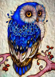 This beautiful fancy owl in a top hat makes an absolutely gorgeous diamond painting. If you're new to the craft, or want to learn more, check out our page on diamond painting here. Animal Drawings, Art Drawings, Colorful Drawings, Tattoo Drawings, Owl Artwork, Owl Pictures, Diamond Paint, Beautiful Owl, Rock Art
