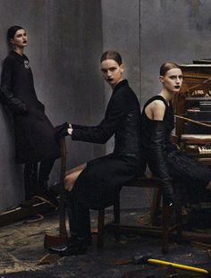 Collections by Steven Meisel for Vogue Italia July 2012