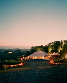 Breathtakingly rustic tent wedding we know a perfect spot already..... ;]