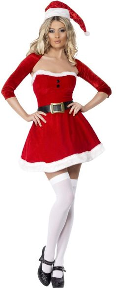 62140d972550e Fever Santa Babe Costume. Mrs Claus OutfitFancy Dress WomensSexy Christmas  ...