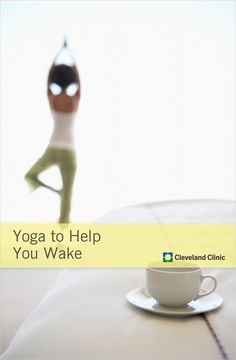 Here's a wake-up call for you: Try a little yoga to get going each morning. A little deep breathing will help get your body ready for the day ahead. Health And Wellness, Health Care, Health Fitness, Healthy Mind, Healthy Weight Loss, Gentle Yoga, Cleveland Clinic, Sweat It Out, Qigong