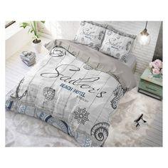 Bavlnené posteľné obliečky, ktoré Vám prinášame, vnesú do Vašej spálne originálny dizajn a kvalitne spracované materiály. Nechajte sa okúzliť. Blanket Cover, Beach Hotels, Bedding Sets, Sailor, Pillow Covers, Bed Pillows, Home, Design, Website