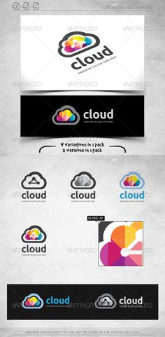Cloud Connection - Logo Template — Vector EPS #system #data • Available here → https://graphicriver.net/item/cloud-connection-logo-template/6025198?ref=pxcr