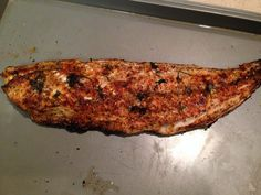 Follow this easy method to cook red fish on the half shell. #recipe #fishing http://www.alloutdoor.com/2016/05/05/redfish-half-shell/