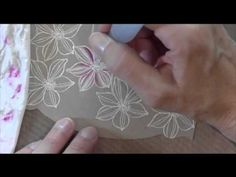 White Watercolor Flowers - YouTube