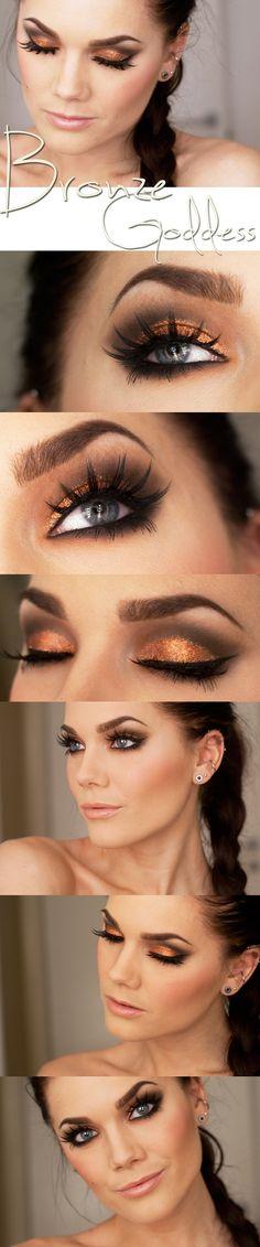Brown-Orange eyes