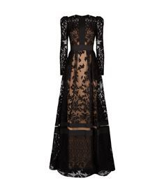 View the Embroidered Lace Gown