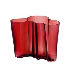 Alvar Aalto vase tranebær - 160 mm - Iittala