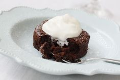 This recipe for Molten Lava Cake proves that Idahoan Mashed Potatoes don't have to be saved for just savory applications!
