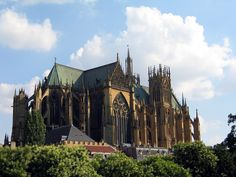 Cathedrale-saint-etienne-metz-de-place-prefecture - Мецский собор — Википедия