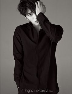 Jae Joong - Harper's Bazaar Magazine February Issue '15