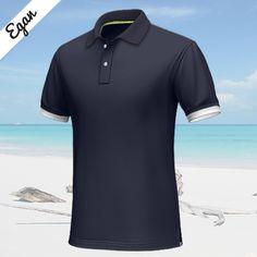 Custom Polo Shirts, Blue Polo Shirts, Short Sleeve Polo Shirts, Red And White Stripes, Black Shorts, Cuffs, Polo Ralph Lauren, Ribbon, Short Sleeves
