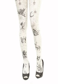Grimoire Verum  Lart de Lettolle  Crazy tights.  Gorgeous♥