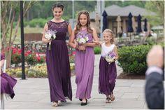 Wedding Flower Guide, Modern Wedding Flowers, Purple Wedding Flowers, Flower Bouquet Wedding, Wedding Ideas, Country Club Wedding, Rustic Wedding, Purple Wedding Arrangements, Bridesmaid Dresses