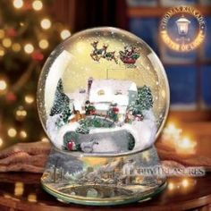 Christmas antique snowglobes - Bing Images