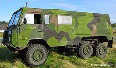 Blog de las Fuerzas de Defensa de la República Argentina: Camión militar: Volvo 303 (Suecia)