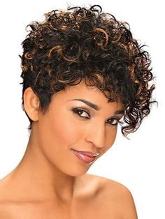 Bob Hairstyles Quick Short Curly Bob Hairstyles With Long Side Bangs For Thick Coarse Hair Women Haircuts For Curly Hair, Curly Hair Cuts, Short Hair Cuts, Hairstyles Haircuts, Black Hairstyles, Celebrity Hairstyles, Pixie Cuts, Curly Hair Styles, Medium Hair Styles
