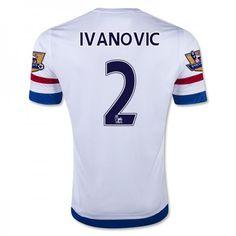 Günstige fußballtrikots Chelsea 15-16 Ivanovic 2 Auswärts Trikot Chelsea  Football Shirt 71e22b8f00c01