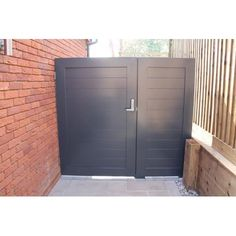 Arden Gates Aluminium Pedestrian Gate With side Panel - Arden Gates from Arden Gates Ltd UK