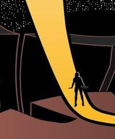 "Perihelion SF illustration for ""No Regrets on Fourth Street"" Flame Tree, Regrets, Superhero Logos, Science Fiction, Street, Illustration, Artwork, Sci Fi, Work Of Art"