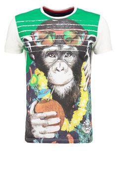 Desigual - T-Shirt print - weiß