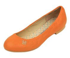 Orange Bunny's Ballet Flats - Ballet Flats - Collection | I want these for spring~!