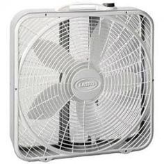"""20"""" Premium Box Fan 3 Speed Regular price$ 34.99 Add to Cart Lasko Products 20"""" Premium Box Fan 3 Speed  Innovative Wind Ring air system provides high volume air movement. Save-Smart - Less than 2 cents per hour. Three quiet speeds Durable Steel Body. Two-year limited warranty ETL Listed. Step up to the Premium Box Fan and enjoy the benefits of the Wind Ring System, an exclusive grill design that focuses the air movement, increasing its velocity. Three, Whisper-Quiet Speeds. 30% More Air…"""