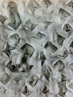 Daniela Maschera·distressed textiles design·fabric manipulation
