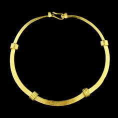 18K Yellow Gold Necklace, Italy