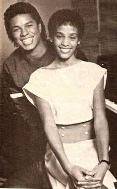 Jermaine Jackson & Whitney Houston